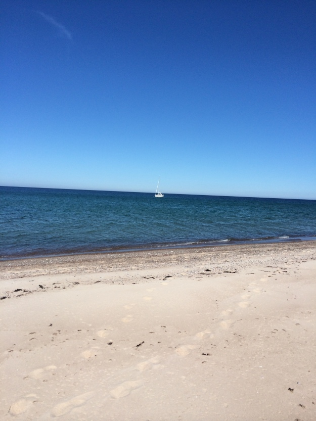 Själva på Gotska Sandön i Maj